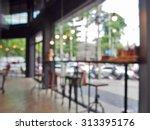blurred background   bar stool... | Shutterstock . vector #313395176