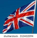 great britain flag   Shutterstock . vector #313432094
