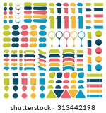 mega collections of... | Shutterstock .eps vector #313442198