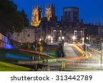 A Night Time View Of York...