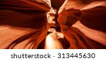 The Antelope Canyon  Near Page  ...