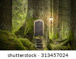 magic fantasy world | Shutterstock . vector #313457024