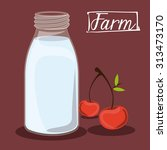 farm food digital design ... | Shutterstock .eps vector #313473170