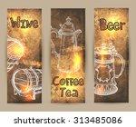 beverages   Shutterstock .eps vector #313485086