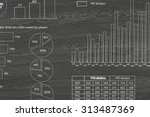 market concept with pencil... | Shutterstock . vector #313487369