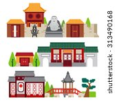 chinatown | Shutterstock .eps vector #313490168