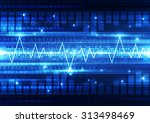 abstract vector... | Shutterstock .eps vector #313498469