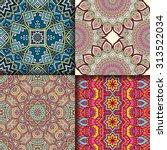 seamless patterns. vintage...   Shutterstock .eps vector #313522034