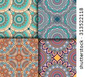 seamless patterns. vintage...   Shutterstock .eps vector #313522118