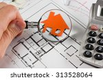 architectural project ... | Shutterstock . vector #313528064