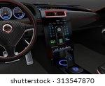 electric car multimedia...