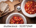 lecho   delicious hungarian... | Shutterstock . vector #313571969