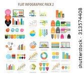 flat infographic element set 2 | Shutterstock .eps vector #313574408