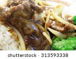 fast food  meat sauce  fried...