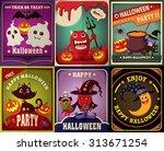 Vintage Halloween Character...