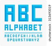 vector alphabet set.   Shutterstock .eps vector #313693019