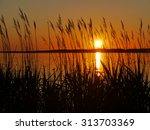 Sunset At The Danish Coastline