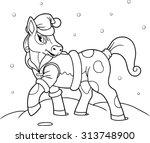 pony | Shutterstock . vector #313748900