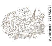 vector abstract illustration...   Shutterstock .eps vector #313752734