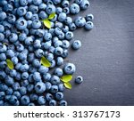 Blueberries Background....