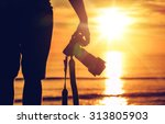 sunset photography.... | Shutterstock . vector #313805903