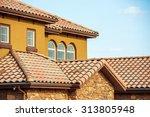 Slates Roof. Modern American...