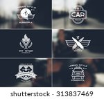 car service badges and logo in...