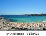 bondi beach in sydney ... | Shutterstock . vector #3138423