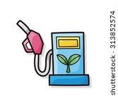 gasoline doodle   Shutterstock .eps vector #313852574