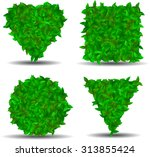 a set of figures from the... | Shutterstock .eps vector #313855424