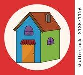 building theme elements vector... | Shutterstock .eps vector #313871156