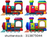 Trains In Different Colors...