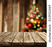 Blurred Background Xmas Tree Lights - Fine Art prints