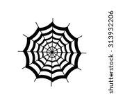 cobweb icon.    Shutterstock .eps vector #313932206