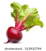 beetroot with leaves  fresh...