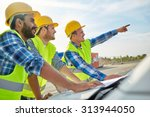 building  construction ... | Shutterstock . vector #313944050