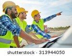 building  construction ... | Shutterstock . vector #313944050