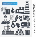 industry engineer and... | Shutterstock .eps vector #313947200
