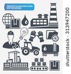 industry engineer and... | Shutterstock .eps vector #313947200