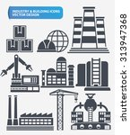industry engineer and... | Shutterstock .eps vector #313947368