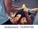 sport  fitness  teamwork ... | Shutterstock . vector #313949768