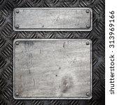 metal construction background...   Shutterstock . vector #313969166