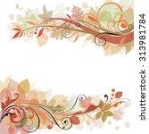 Autumn Swirl Design