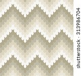 chevrons seamless pattern ... | Shutterstock .eps vector #313986704