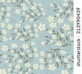 seamless floral pattern   Shutterstock .eps vector #313990439