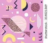seamless geometric pattern in... | Shutterstock .eps vector #314021369