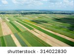 aerial view of the countryside... | Shutterstock . vector #314022830