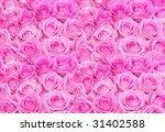Huge Pink Roses Floral Bouquet...