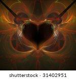 abstract background. orange...   Shutterstock . vector #31402951