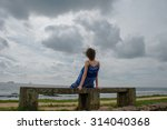 photo of the woman look into... | Shutterstock . vector #314040368